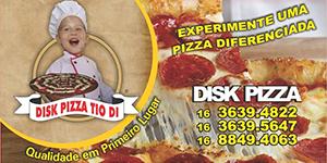 Disk Pizza Tio Di